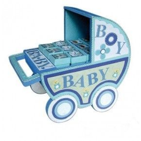 EXPOSITOR CARRO BEBE BLUE