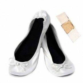 BAILARINAS WEDDING EN BOLSA DE REGALO M-WHITE