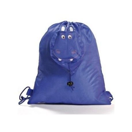 BOLSA PLEGABLE ANIMALES BLUE