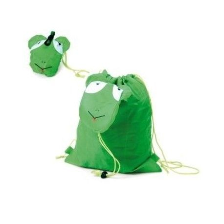 BOLSA PLEGABLE ANIMALES  GREEN