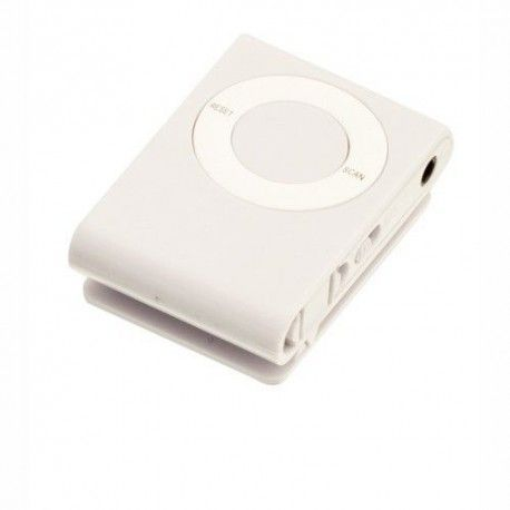 MINI RADIO FM WHITE