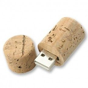USB  TAPON BOTELLA VINO 4GB