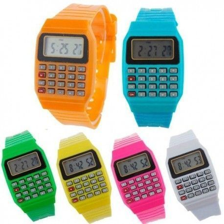 RELOJ DIGITAL Y CALCULADORA COOL